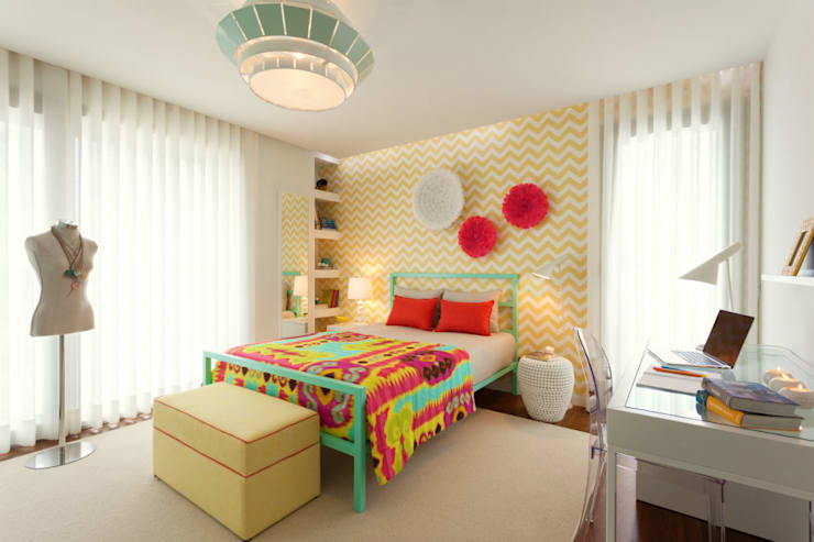 Girly Room: Quartos  por Ana Rita Soares- Design de Interiores