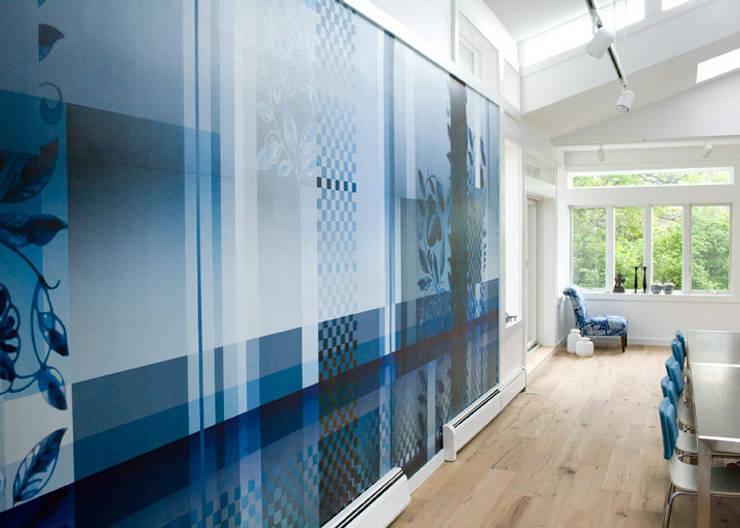 beach house, Provincetown MA:  Muren door Workingbert
