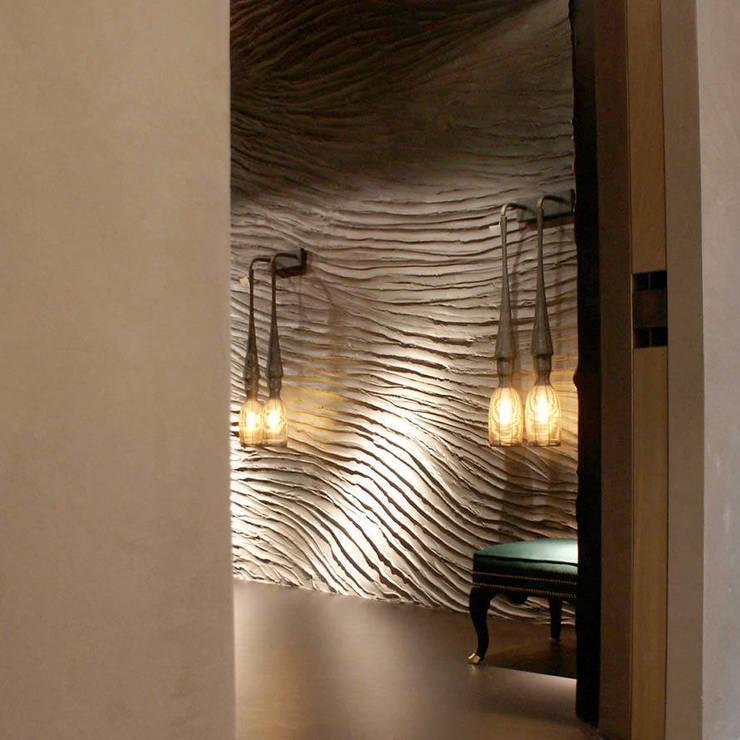 Flow sharp grey:  Muren & vloeren door Dofine wall | floor creations