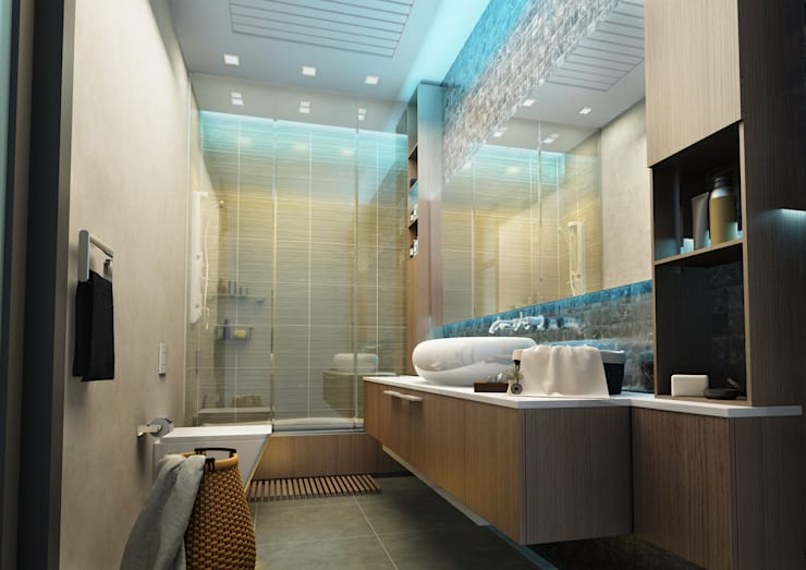 BA DESIGN – House Project:  tarz Banyo