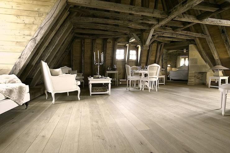 Frans kasteel in ere hersteld:  Muren door Nobel flooring