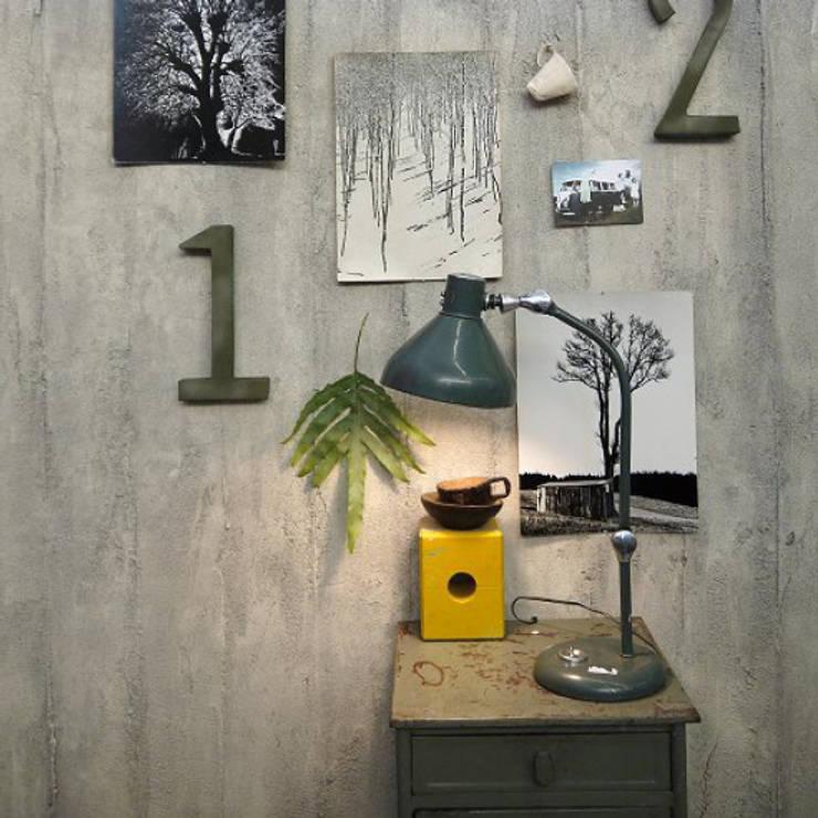 Oldskool van Dofine wall | floor creations Eclectisch
