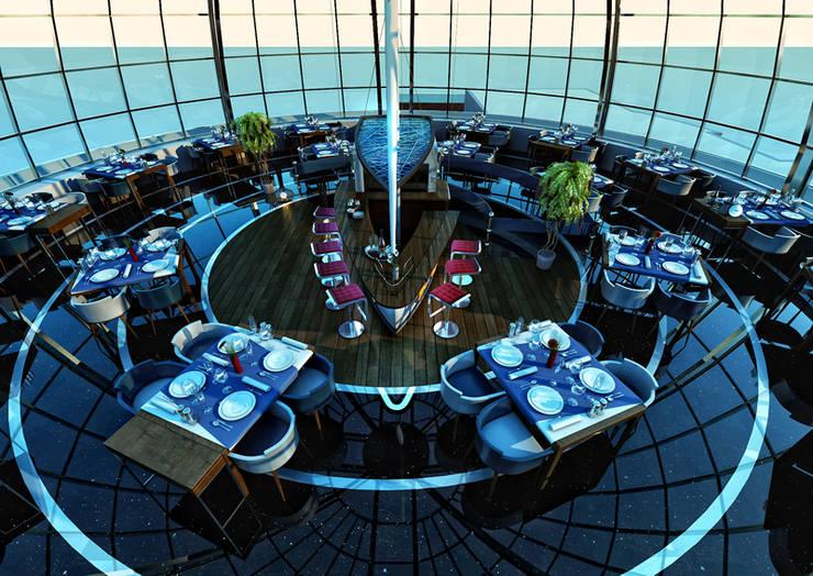 BA DESIGN – Tunisian restaurant:  tarz Teras