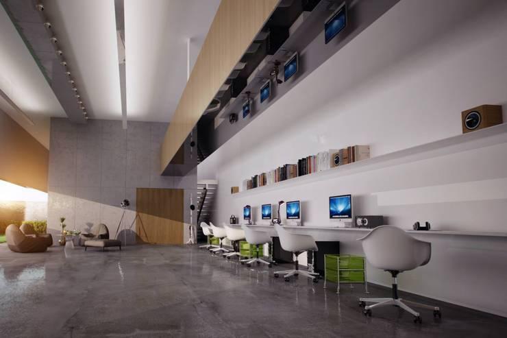 BA DESIGN – office:  tarz Çalışma Odası
