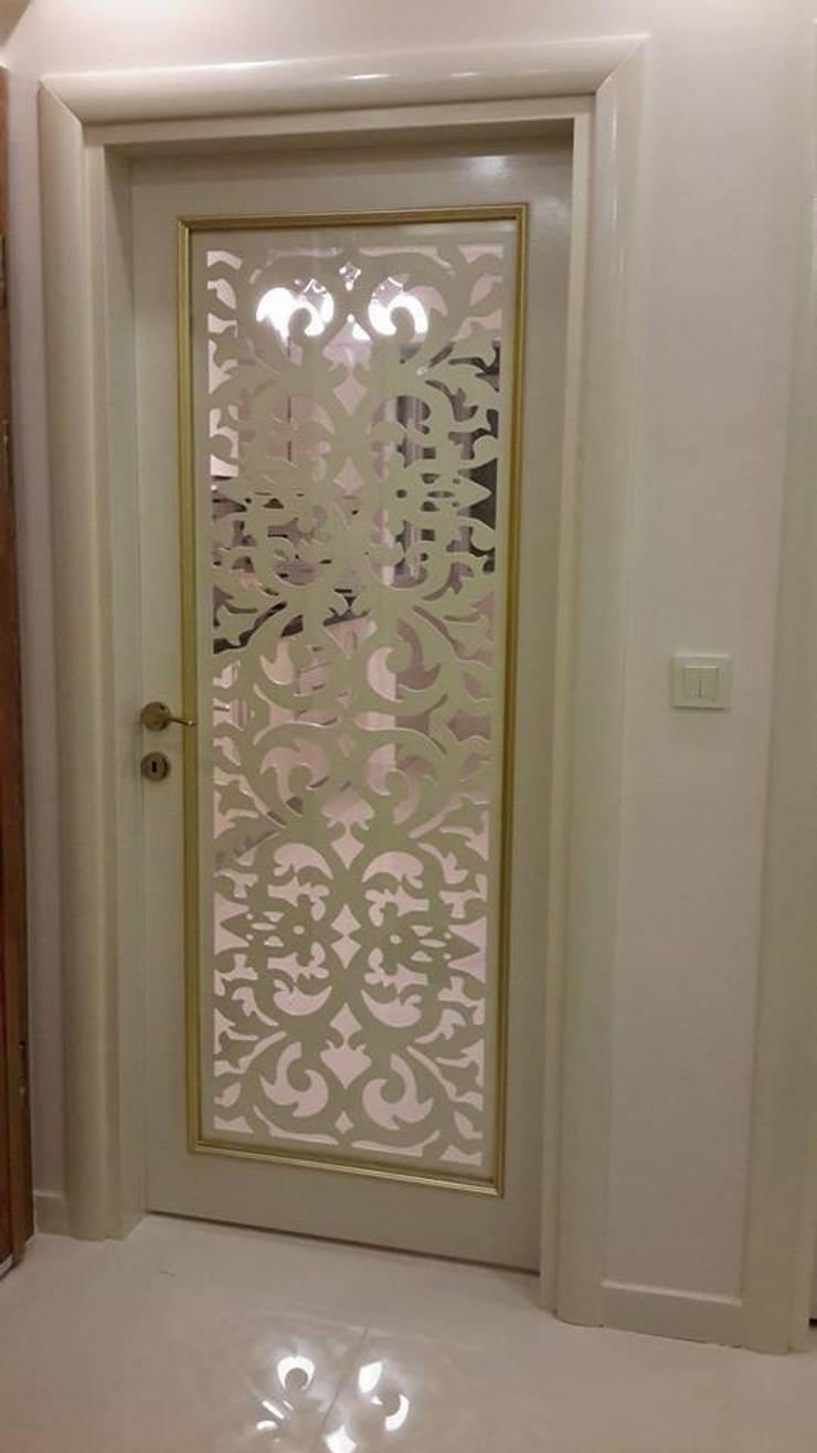 duyar ahşap ürünleri – CNC SEPERARTÖR MDF KAPI:  tarz Pencere & Kapılar