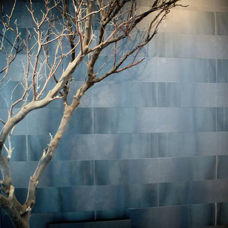Metal Quilt:  Muren & vloeren door Dofine wall | floor creations