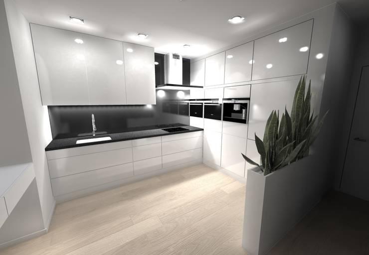 Kuchnia - projekt: styl , w kategorii Kuchnia zaprojektowany przez Orange Studio