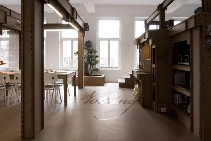 Biuro agencji reklamowej Nothing: styl , w kategorii Biurowce zaprojektowany przez Milena.Ostólska