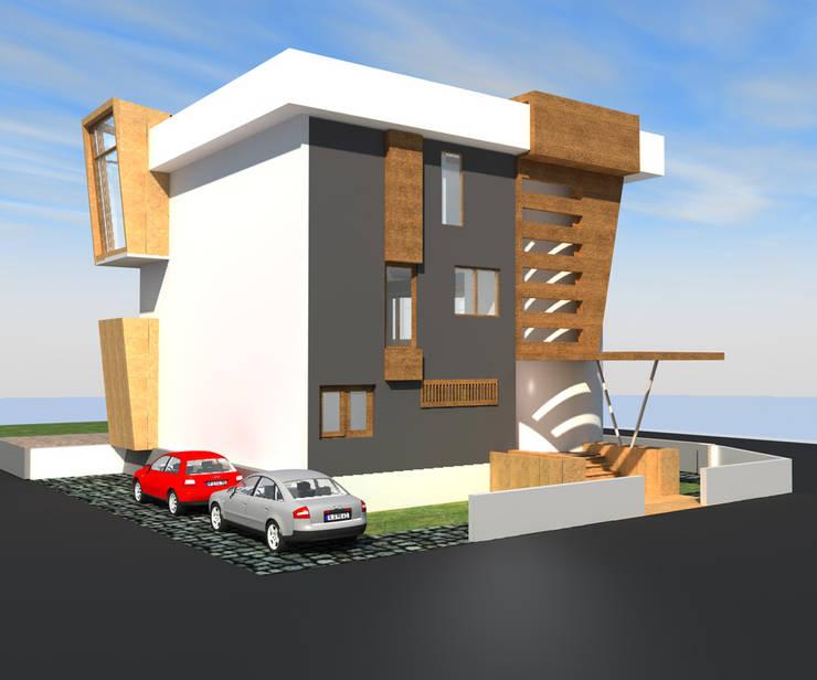 DerganÇARPAR Mimarlık  – Gökhan GÖÇMEN villası İskenderun :  tarz Evler