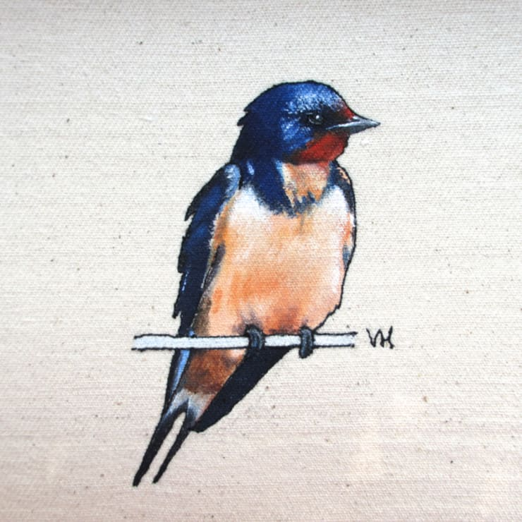 Swallow:  Artwork by Lottie's Cottage