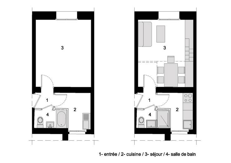 PLANS:  de style  par Pierre Georges Architecte