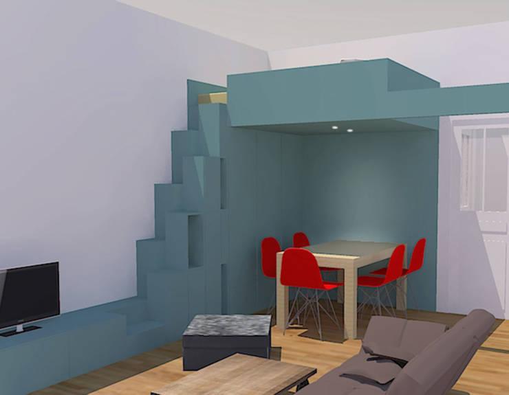Perspective:  de style  par Pierre Georges Architecte