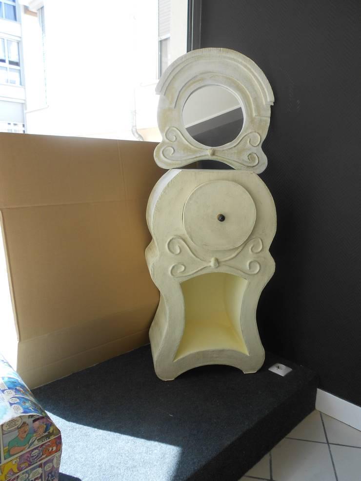 Chevet: Chambre de style  par chouette carton
