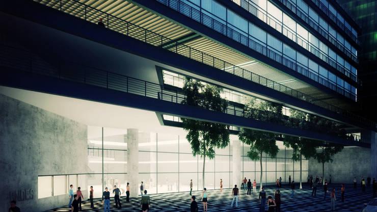 Anexo do BNDES: Casas modernas por AF Arquitetura