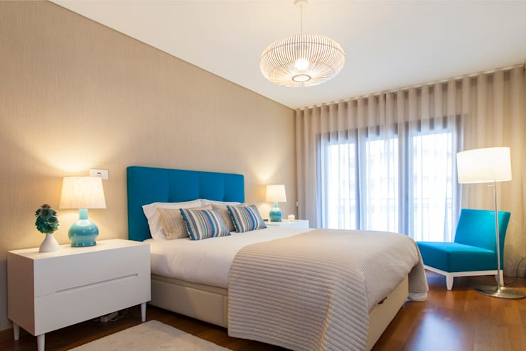 Bedroom by Traço Magenta - Design de Interiores