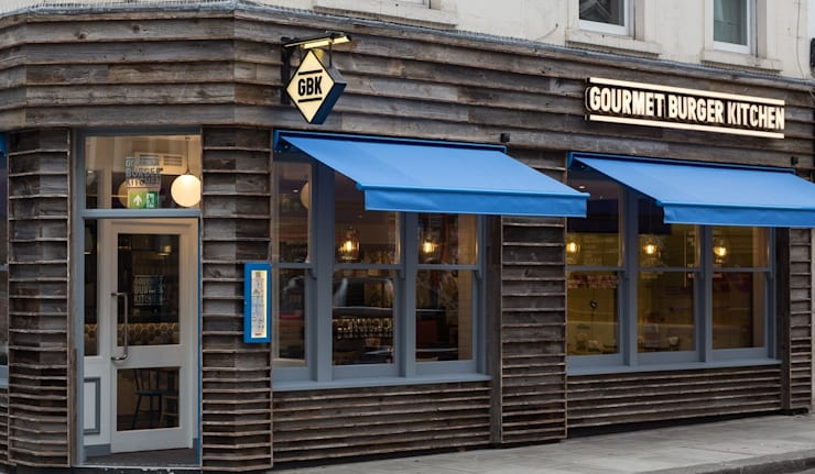 GBK Earls Court:  Gastronomy by moreno:masey