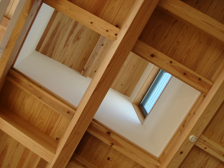 吹抜け: 稲吉建築企画室が手掛けたリビングです。