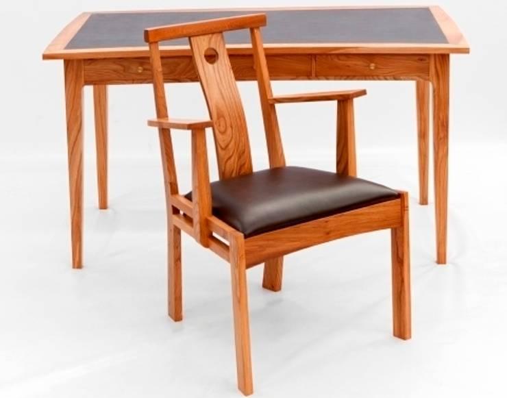Work Desk & Chair:  Study/office by John Thatcher Furniture