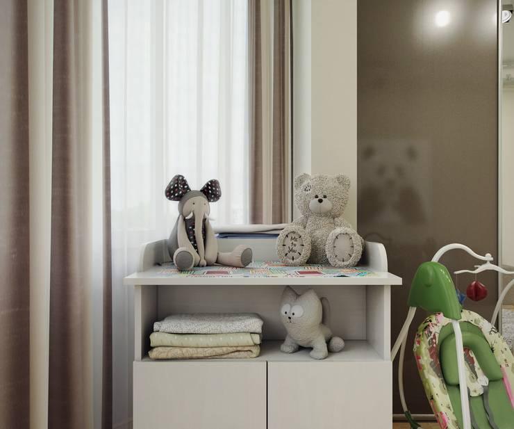 Квартира на Рахманинова: Детские комнаты в . Автор – Максим Любецкий