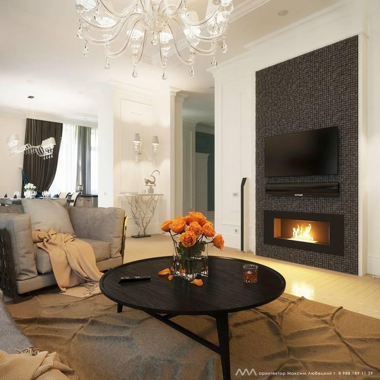 Living room by Максим Любецкий
