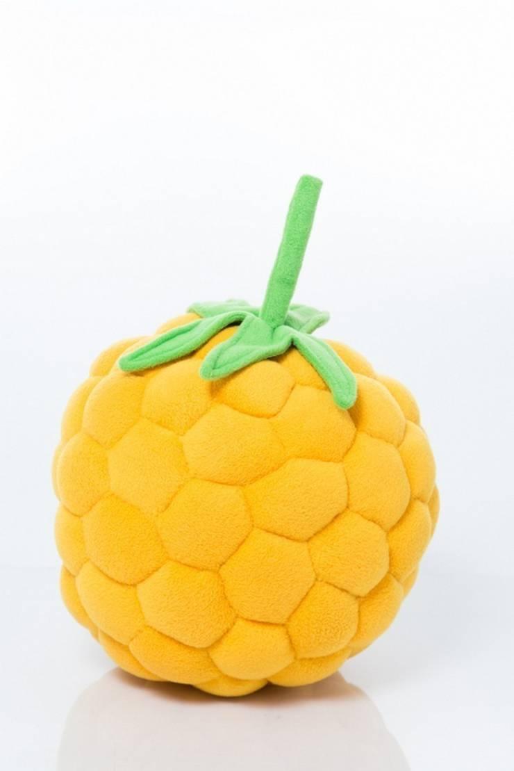 Poduszka żółta malinka : styl , w kategorii Pokój dziecięcy zaprojektowany przez Pracownia Projektowa Pink Frog