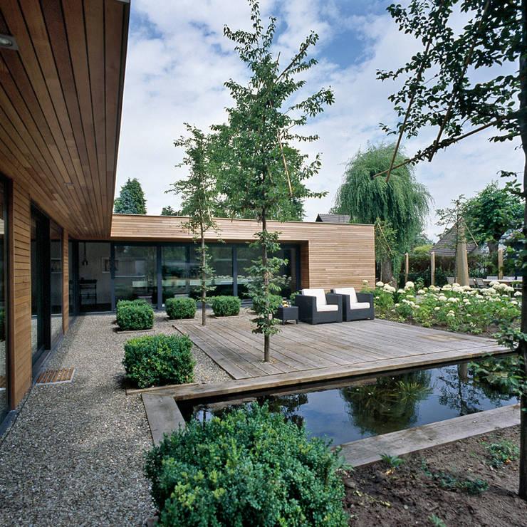 achtergevel:  Huizen door Benerink Architecten