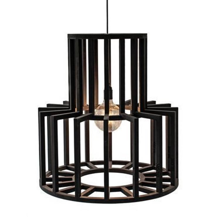 Hanging Lamp Jodie/ Hanglamp Jodie:  Woonkamer door Blok Meubel