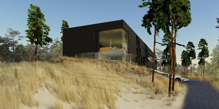 บ้านและที่อยู่อาศัย โดย VVKH Architecten,