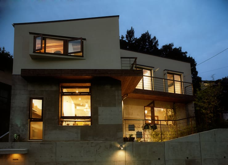 Houses by gimbalworks, Modern