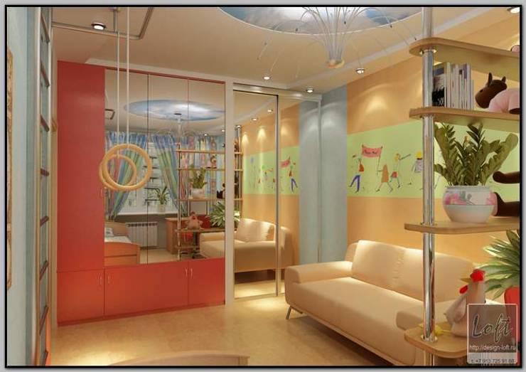 Детская комната : Детские комнаты в . Автор – Мастерская дизайна  LOFT