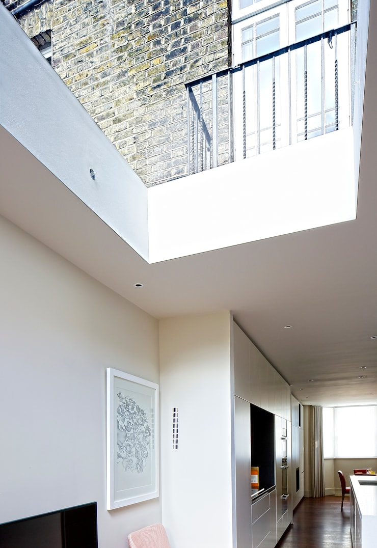 Redesdaale Street Chelsea Basement Development Rooflight:  Windows  by Shape Architecture
