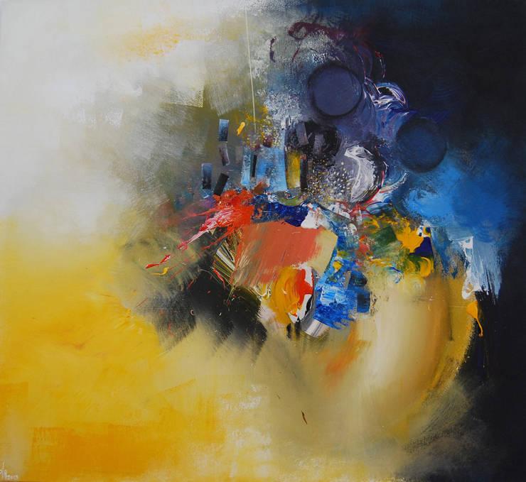 L'Envol Du Plumage by Fola Lawson :  Artwork by Mille Arts
