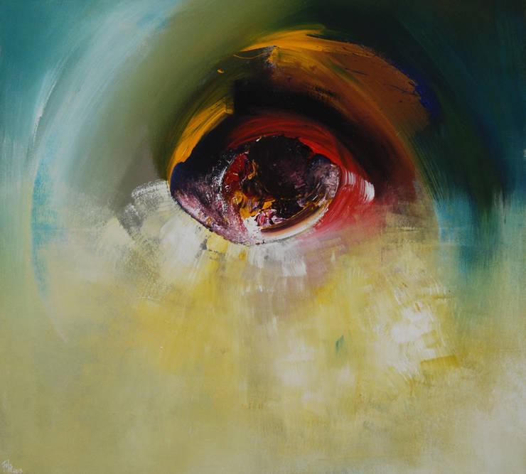 L'oeil Positif by Fola Lawson:  Artwork by Mille Arts