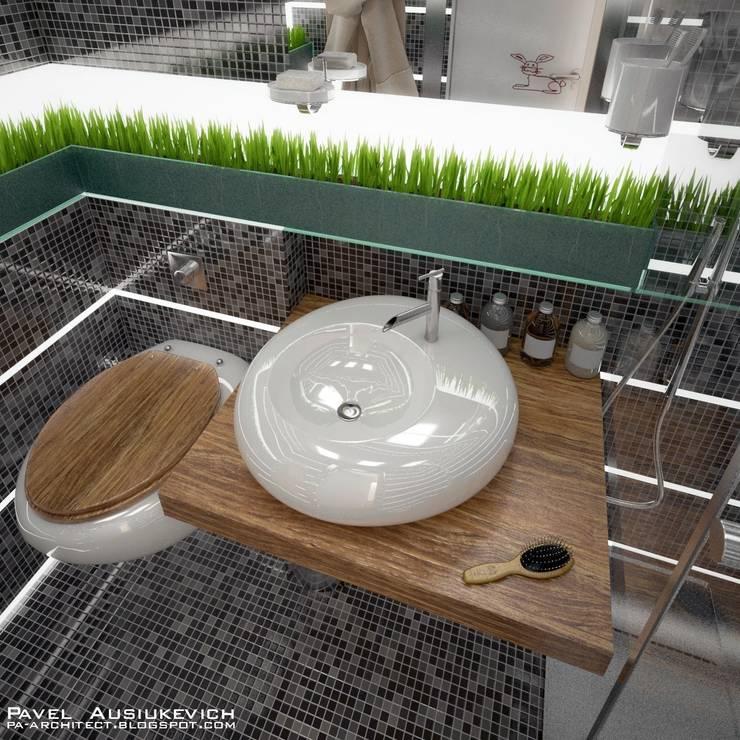 Ванная: Ванные комнаты в . Автор – Павел Авсюкевич