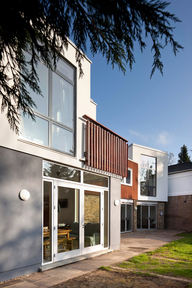 Clover House:  Houses by richard pain architect