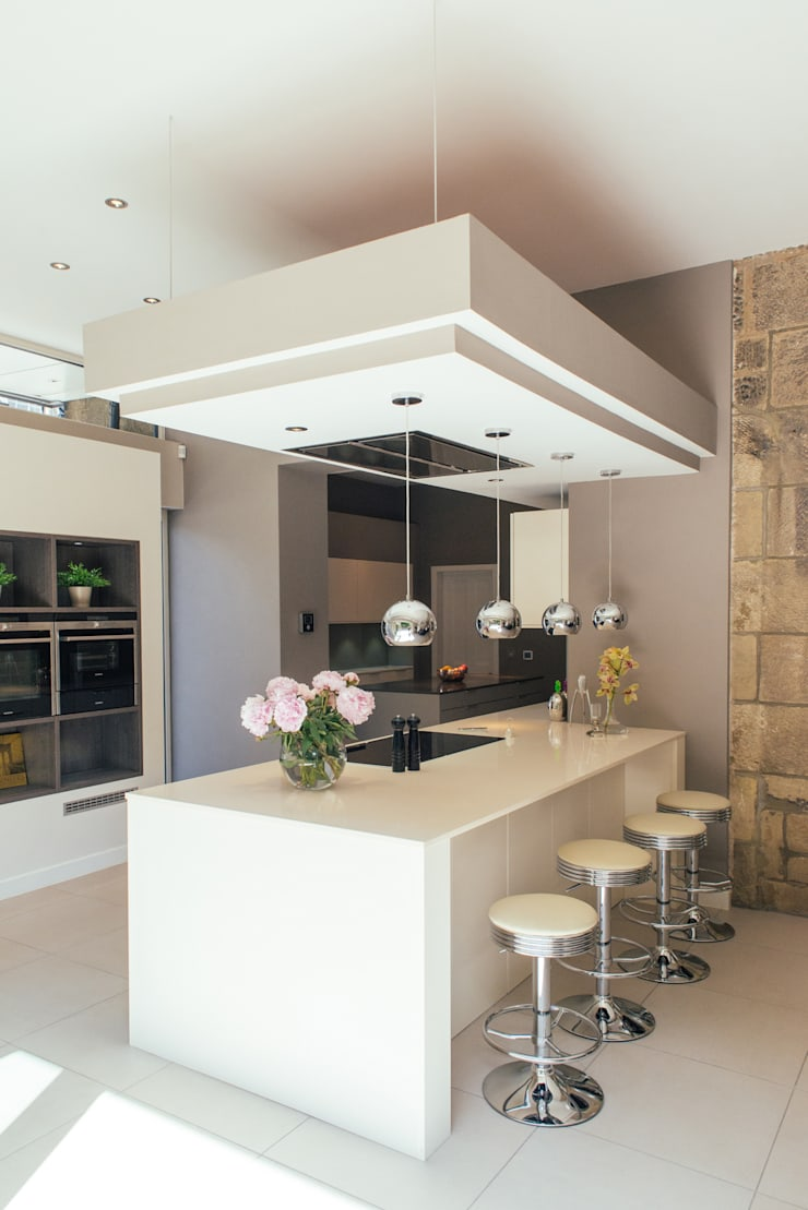 Broomhill Extension 02:  Kitchen by George Buchanan Architects