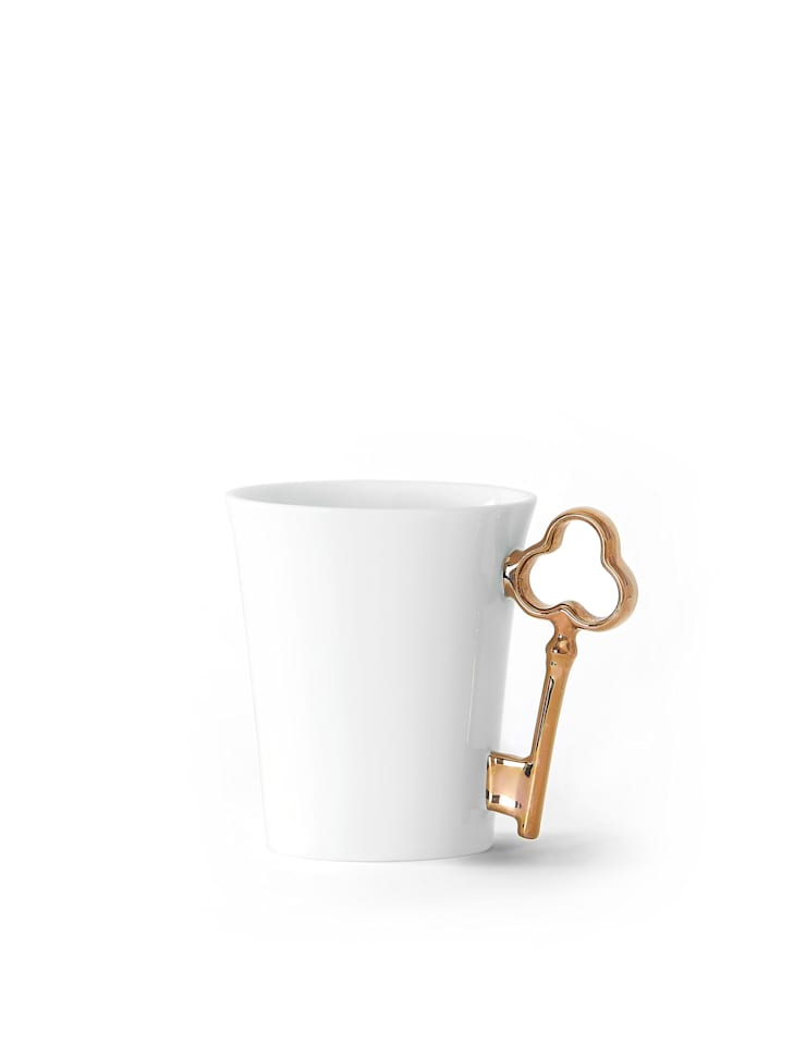Bronze Key Handle Mug:  Kitchen by Gary Birks