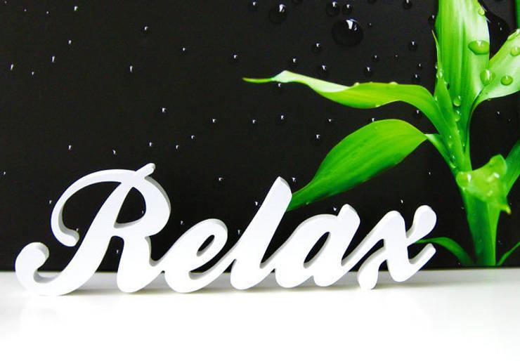 3D Relax: Salle de bain de style  par wall-art.fr