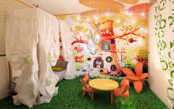 Cottage in Eco style: Детские комнаты в . Автор – HandZart