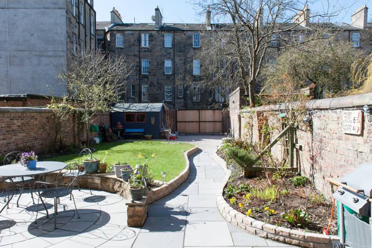 Hillhead Refurbishment 02:  Garden by George Buchanan Architects