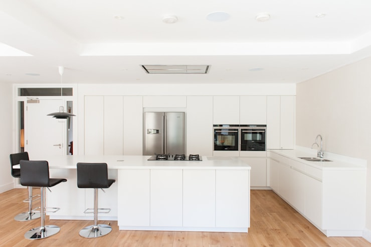 Hillhead Refurbishment 05:  Kitchen by George Buchanan Architects