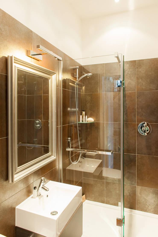 Hillhead Refurbishment 06 AFTER:  Bathroom by George Buchanan Architects