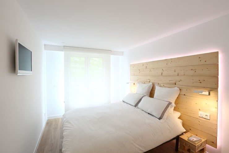 Calidéz nórdica para descansar: Dormitorios de estilo escandinavo de ILIA ESTUDIO