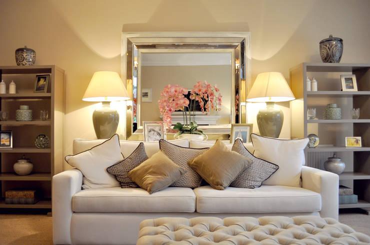 Sandringham Court 06:  Living room by George Buchanan Architects