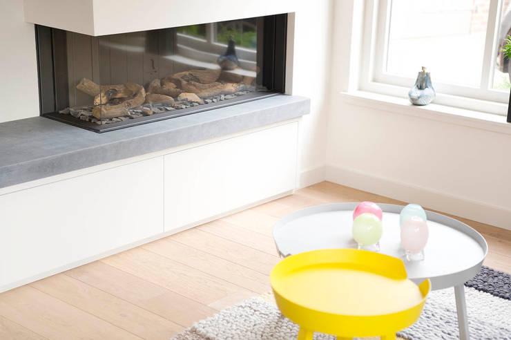 Projekty,  Salon zaprojektowane przez Jolanda Knook interieurvormgeving
