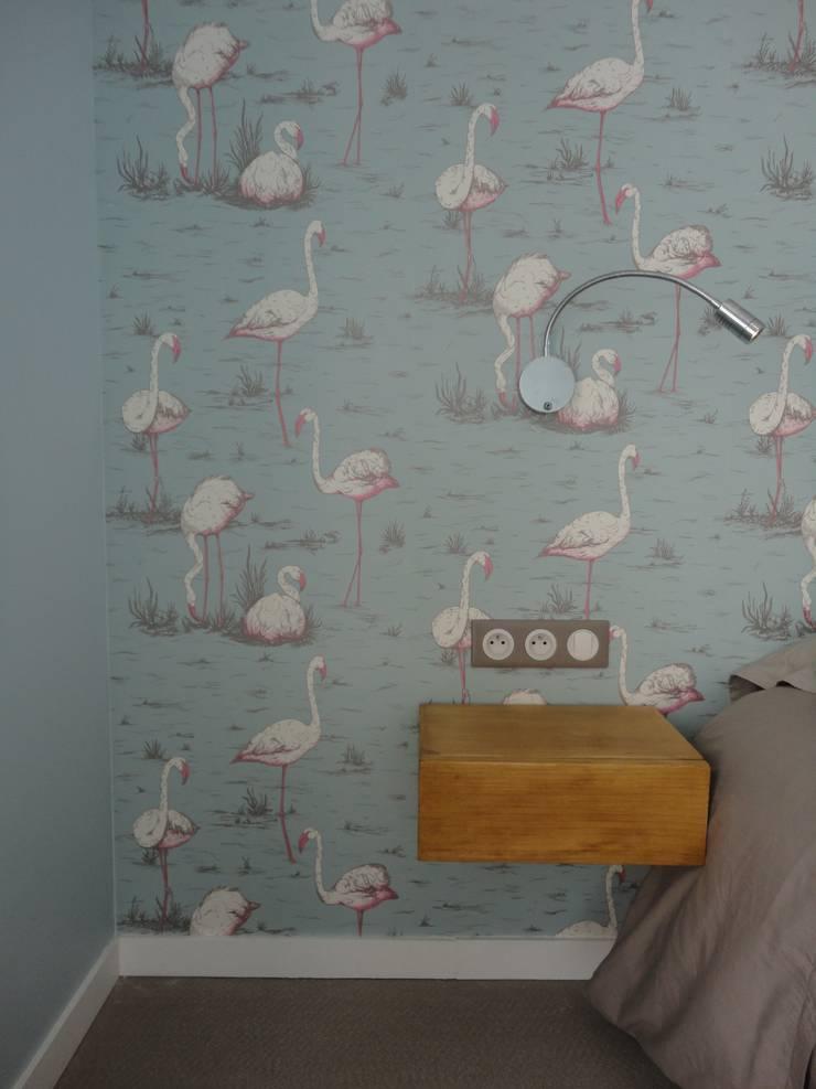 #leselephants: Chambre de style  par Cocottes Studio