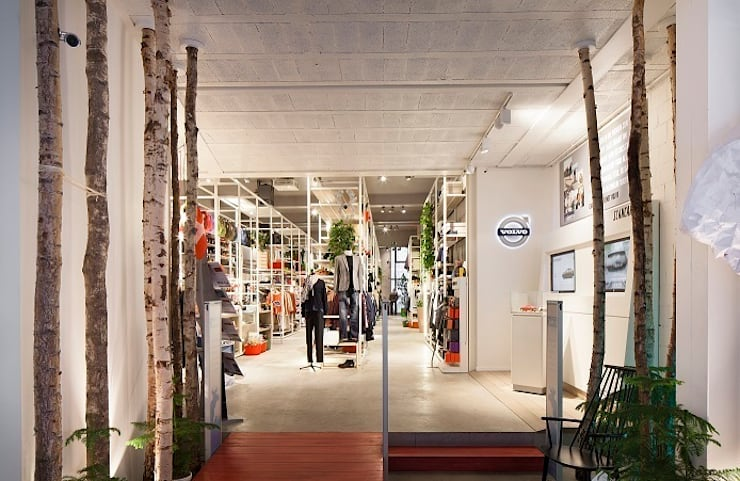 Moose in the City  –  Antwerpen :  Winkelruimten door PUUR interieurarchitecten