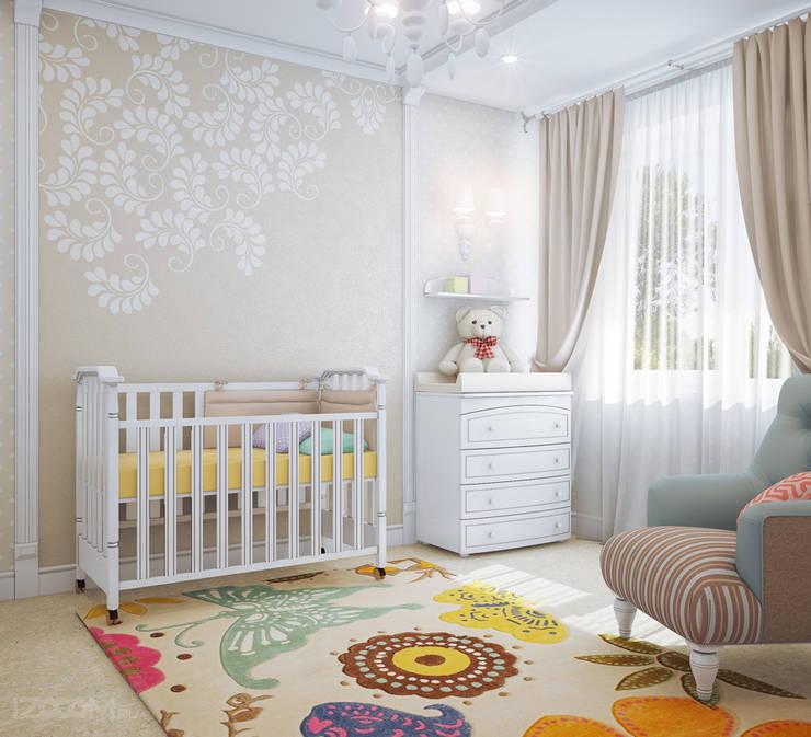 Chambre d'enfant de style de style Classique par izooom