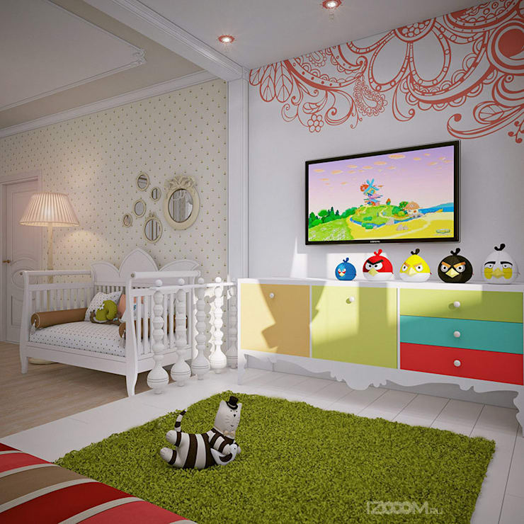 country Nursery/kid's room by izooom