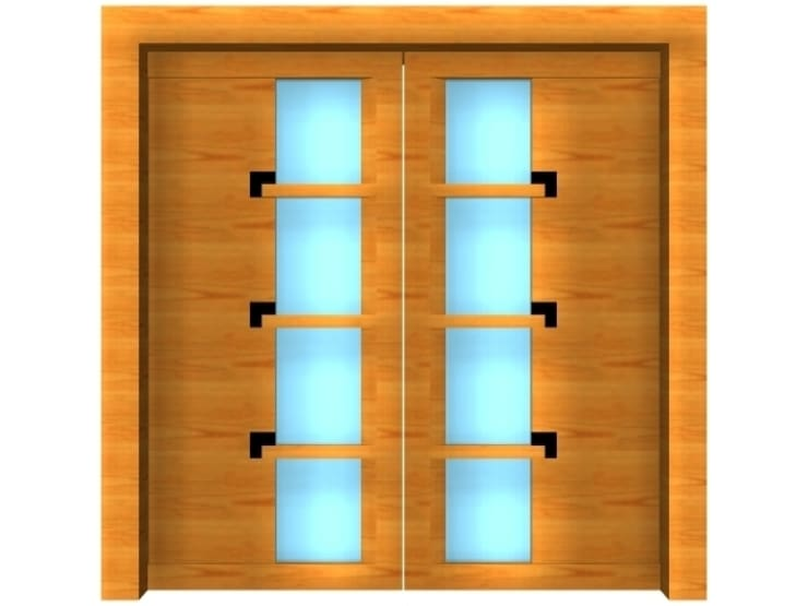 Puertas y ventanas de estilo  de massimo spagnolo architetto